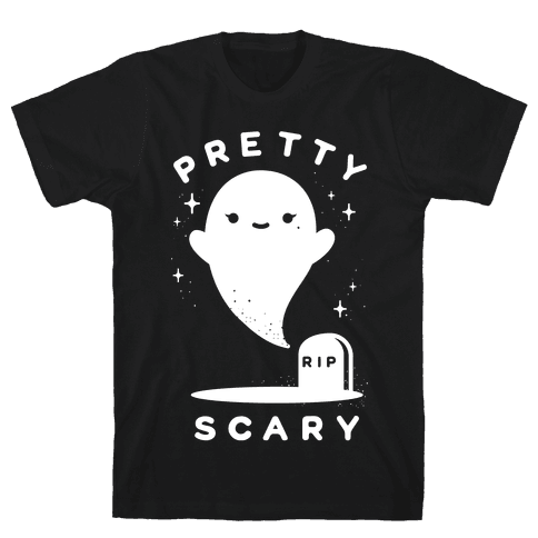 Pretty Scary Mens T-Shirt