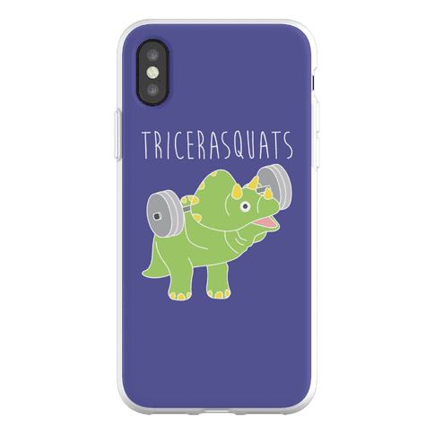 TriceraSQUATS Phone Flexi-Case