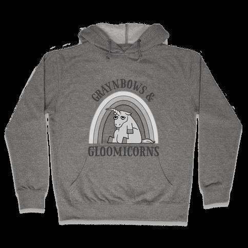 Graynbows & Gloomicorns Hooded Sweatshirt