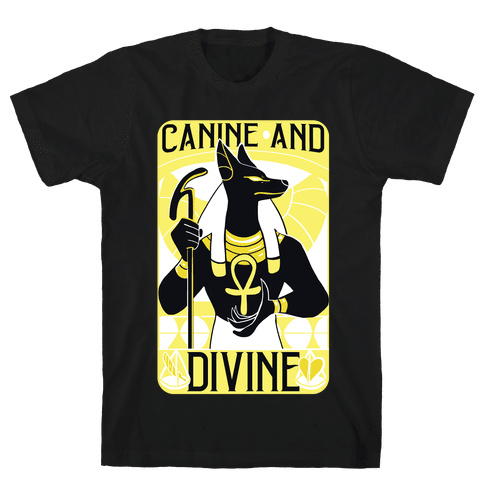 Canine and Divine  Mens T-Shirt