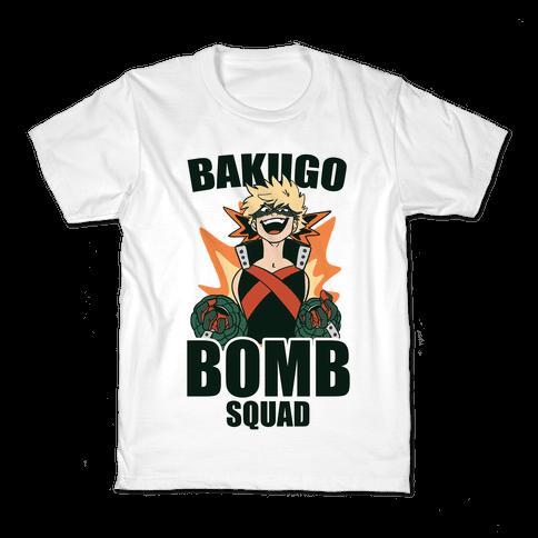 Bakugo Bomb Squad Kids T-Shirt