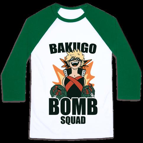 Bakugo Bomb Squad Baseball Tee
