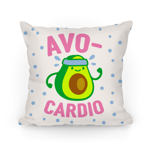 Avocardio Avocado Pillow