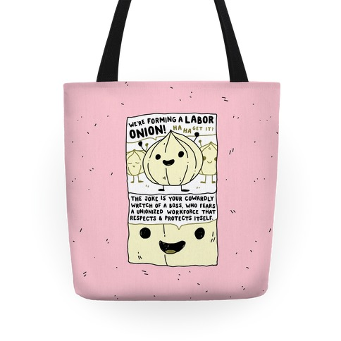 Labor Onion Tote