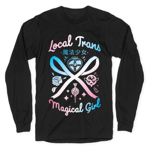Local Trans Magical Girl Long Sleeve T-Shirt