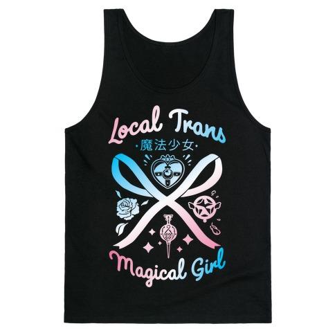 Local Trans Magical Girl Tank Top