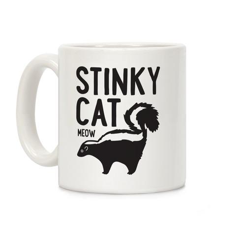 Stinky Cat Skunk Coffee Mug