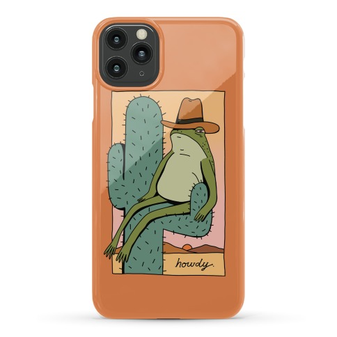 Howdy Frog Cowboy Phone Case