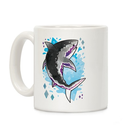Pride Sharks: Ace Coffee Mug