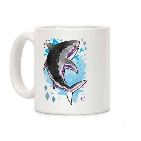 Pride Sharks: Ace Coffee Mug