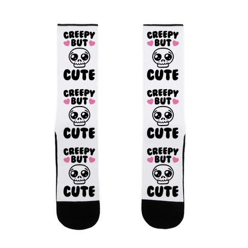 Creepy But Cute Sock