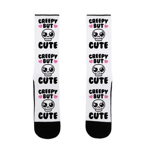Creepy But Cute  Sock