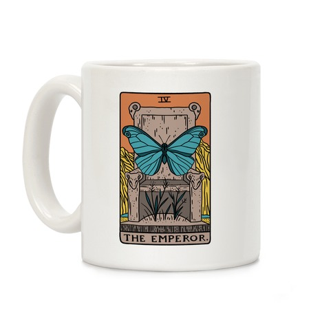 The Emperor Butterfly Tarot Coffee Mug
