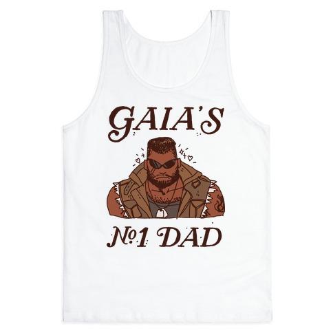 Gaia's Number 1 Dad Tank Top