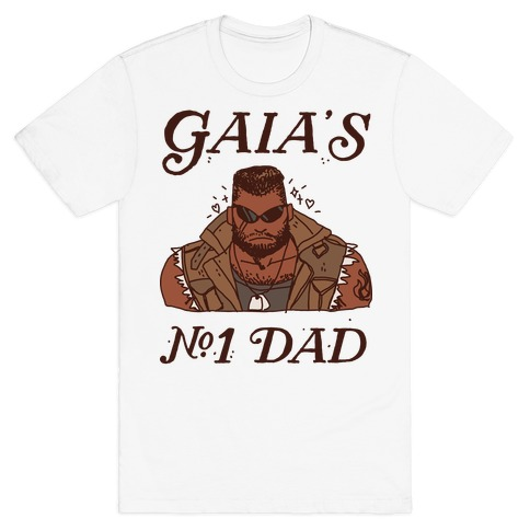Gaia's Number 1 Dad T-Shirt