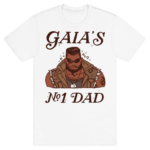Gaia's Number 1 Dad Mens/Unisex T-Shirt