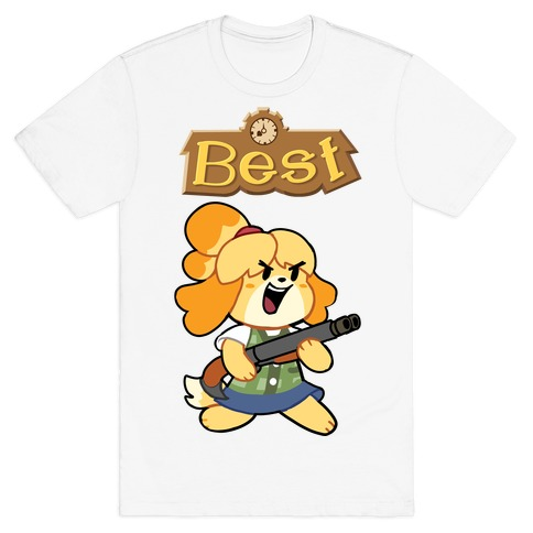 Best Friends Doomguy and Isabelle T-Shirt