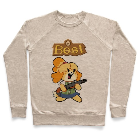 Best Friends Doomguy and Isabelle Pullover