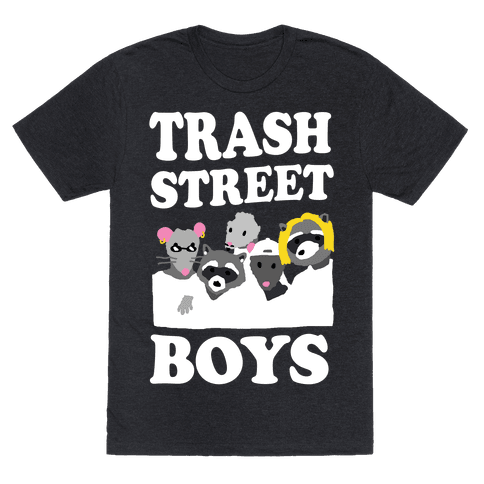 Trash Street Boys Mens T-Shirt