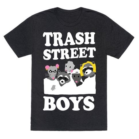 Trash Street Boys Mens T-Shirt