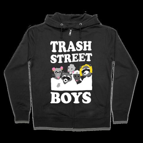 Trash Street Boys Zip Hoodie