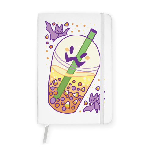 Toil and Trouble Bubble Tea Notebook
