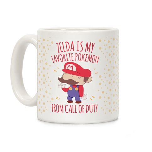 Zelda Is My Favorite Pokemon Coffee Mug