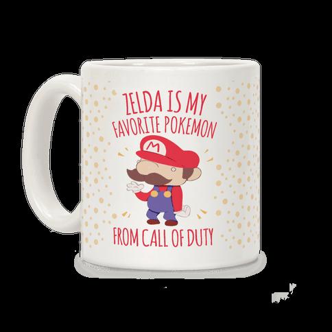 Zelda Is My Favorite Pokemon Coffee Mug