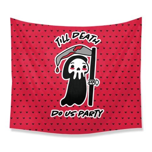 Till Death Tapestry