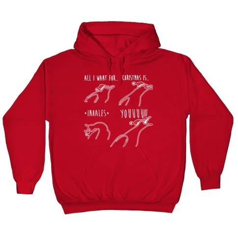 All I Want For Christmas Meme.All I Want For Christmas Is You Meme Parody White Print Hoodie Lookhuman