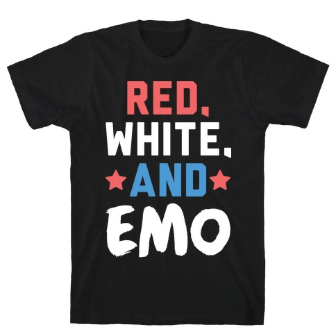 Red, White, And Emo T-Shirt