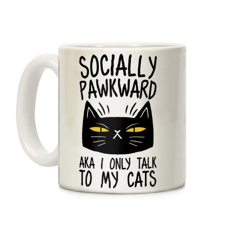 Socially Pawkward Coffee Mug
