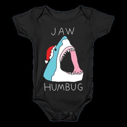 Jaw Humbug Baby Onesy