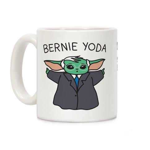 Bernie Yoda Coffee Mug