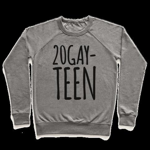 20-Gay-Teen  Pullover