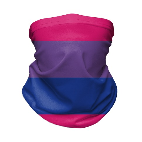 Bi Pride Flag Neck Gaiter