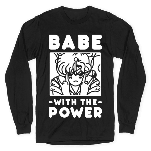 Babe With the Power Sailor Jupiter Long Sleeve T-Shirt