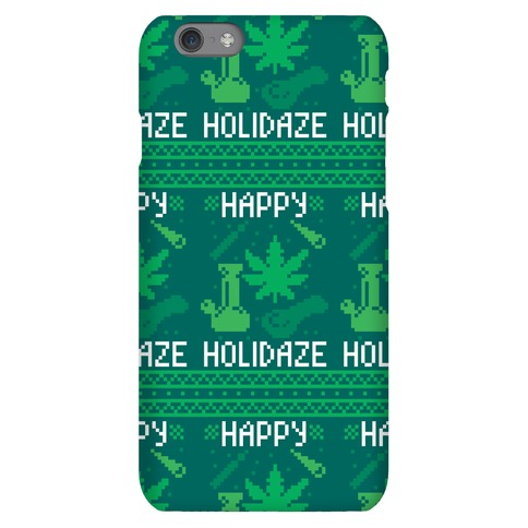 Happy Holidaze Phone Case