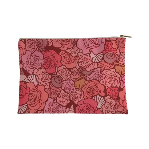 Shells and Roses Accessory Bag