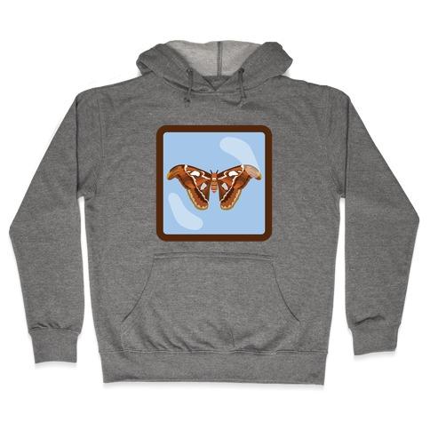 Framed Atlas Moth Hooded Sweatshirt
