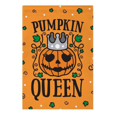 Pumpkin Queen Garden Flag