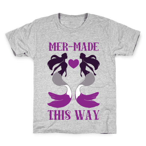 Mer-Made This Way - Ace Kids T-Shirt