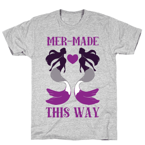 Mer-Made This Way - Ace Mens T-Shirt
