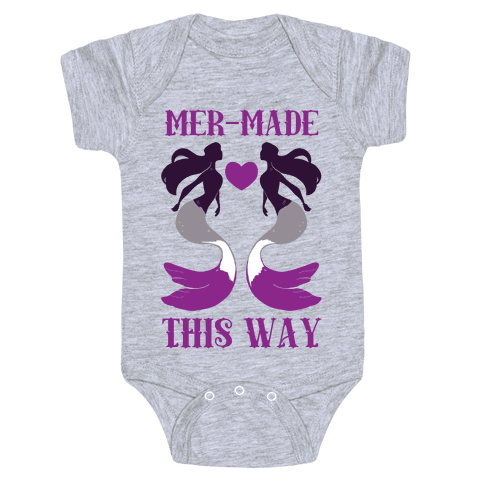 Mer-Made This Way - Ace Baby Onesy