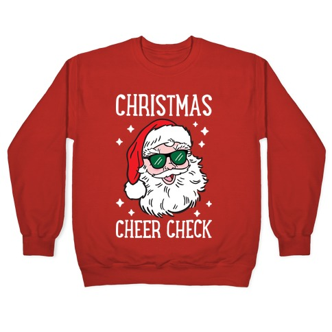 Christmas Cheer Check Pullover