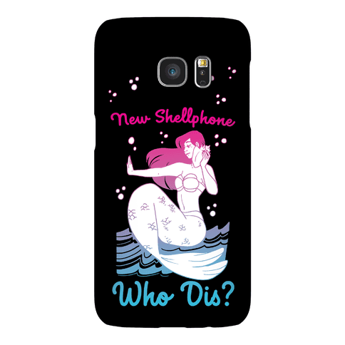 New Shellphone, Who Dis Phone Case