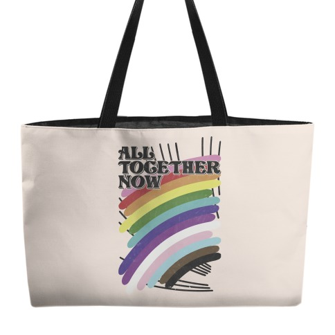 All Together Now Weekender Tote