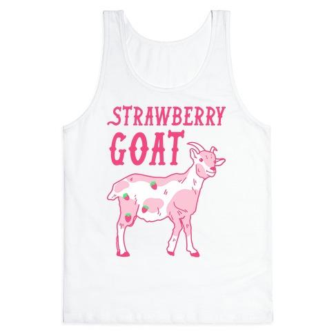 Strawberry Goat Tank Top