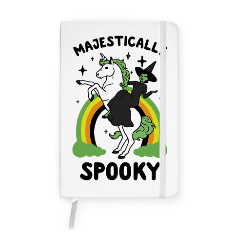 Majestically Spooky Notebook