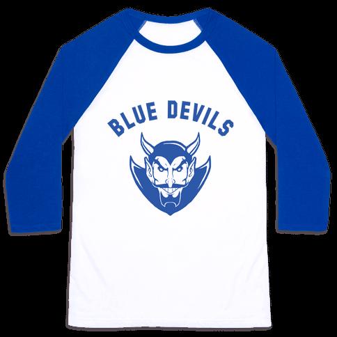 Blue Devils Baseball Tee
